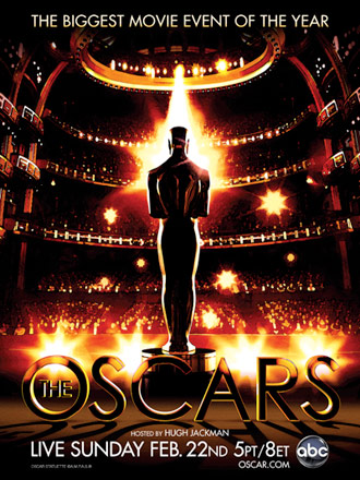 81st Annual Academy Awards Poster