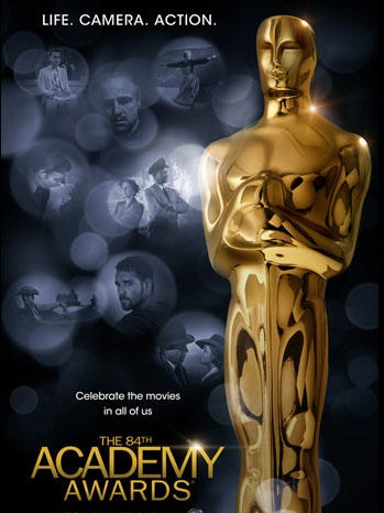 84th Annual Academy Awards Poster